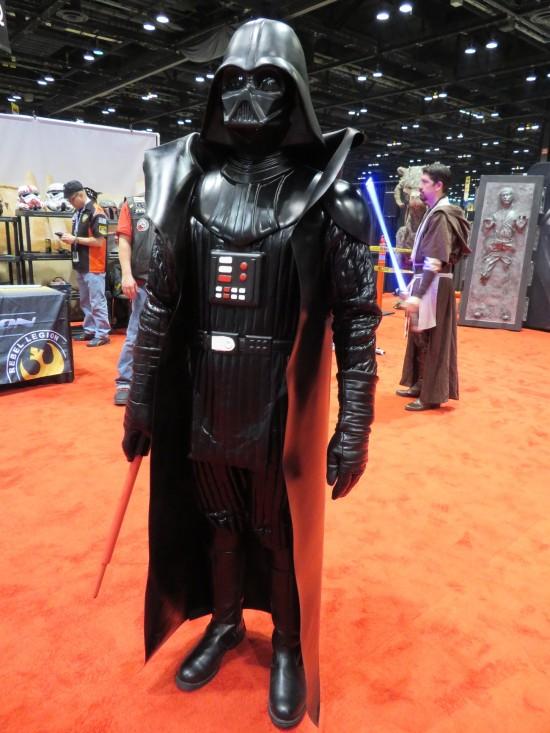 Darth Vader action figure!