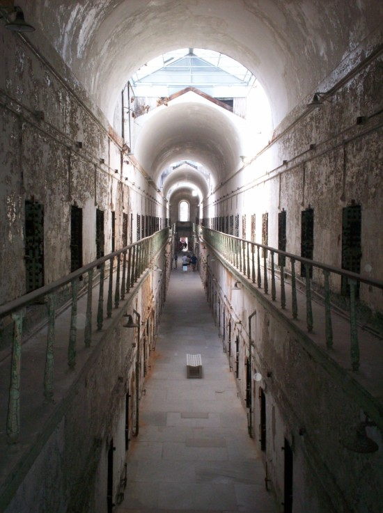 Eastern State Penitentiary!