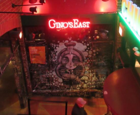 Gino's East mural!