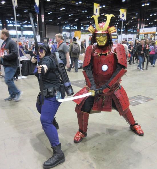 Kate Bishop and Samurai Iron Man!