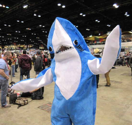 Left Shark!