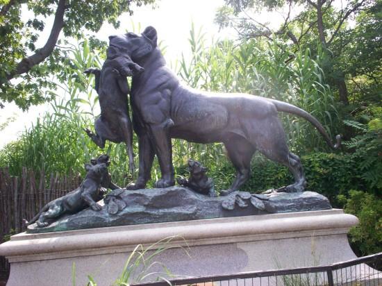 Lion Statue!