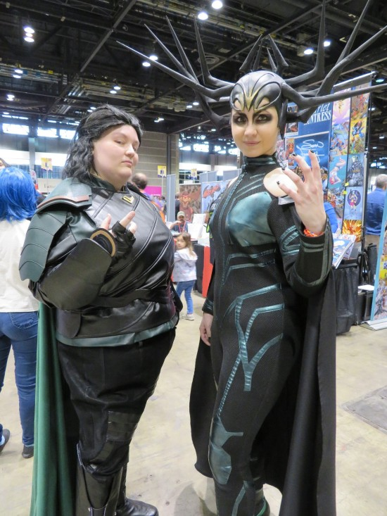 Loki and Hela!