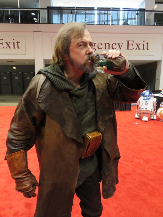 Luke Skywalker and green milk!