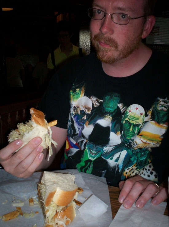 Me and Sandwich!
