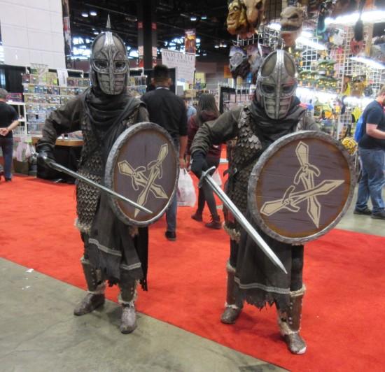 medieval knights!