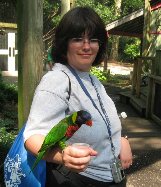 Parrot and Anne!