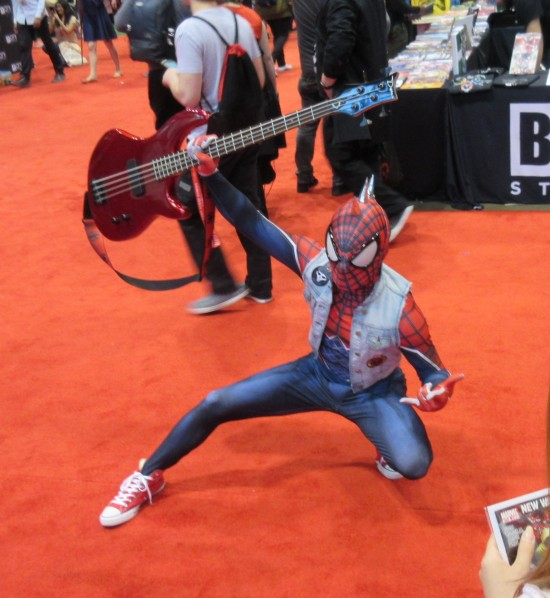punk rock Spider-Man!