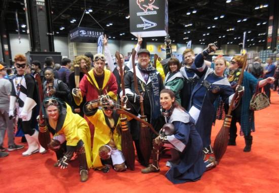 Quidditch team!