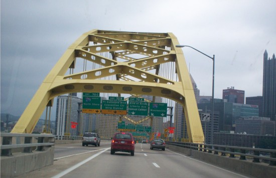 Fort Pitt Bridge!