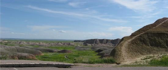 Badlands dunes!