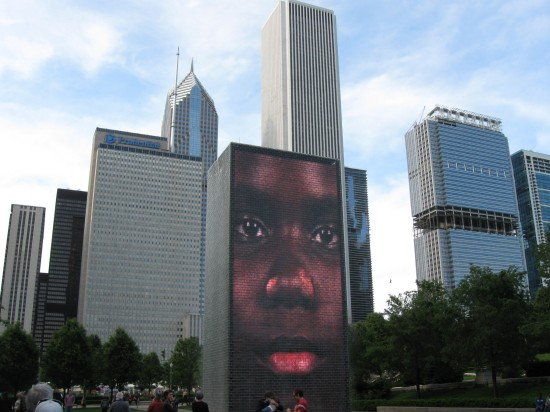 Chicago Crown Fountain!