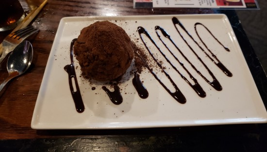 Chocolate Tartufo!