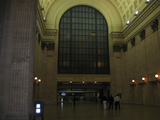 Union Station, Night!