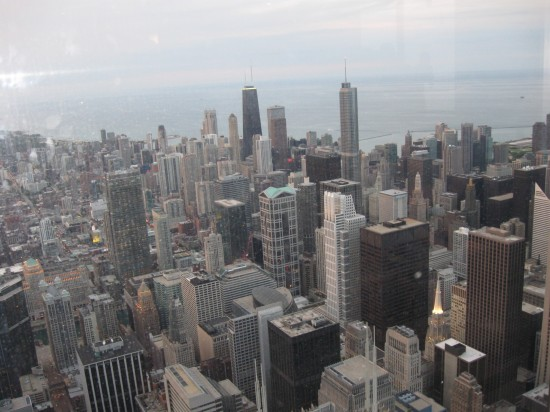 Willis Tower view!