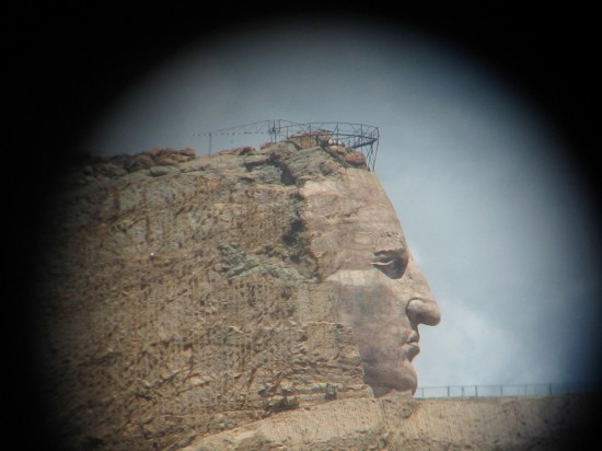 Crazy Horse close-up!