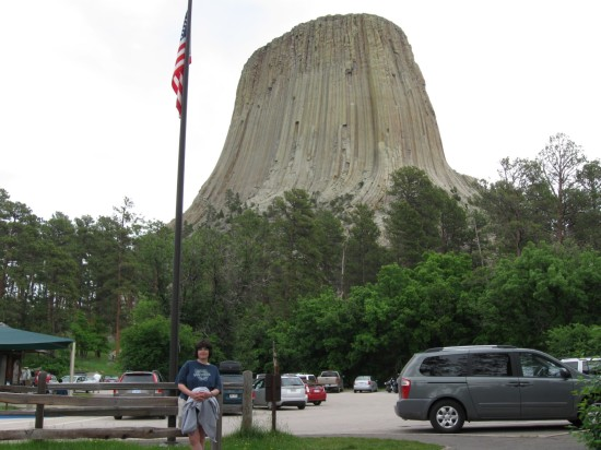 Devils Tower + Anne!