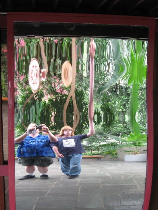 Fun House mirror!