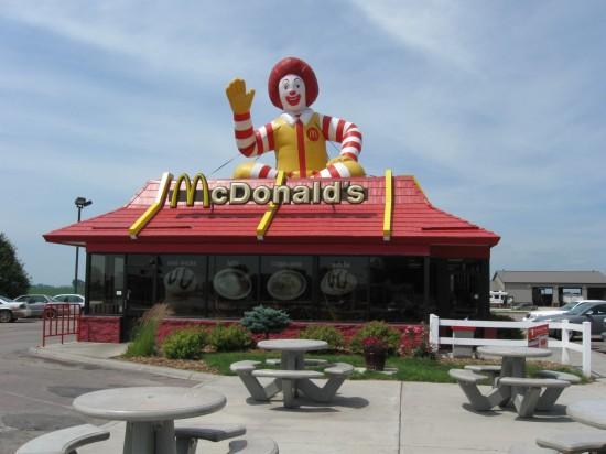 Mega Ronald McDonald!