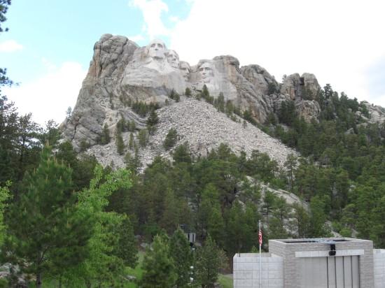 Rushmore + Trees!