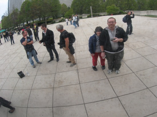 Us in the Bean!