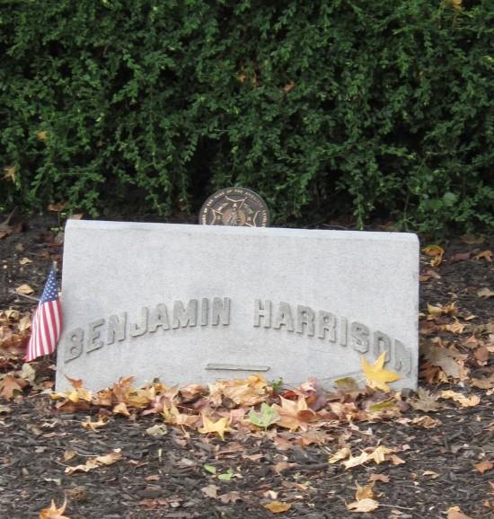 Benjamin Harrison!
