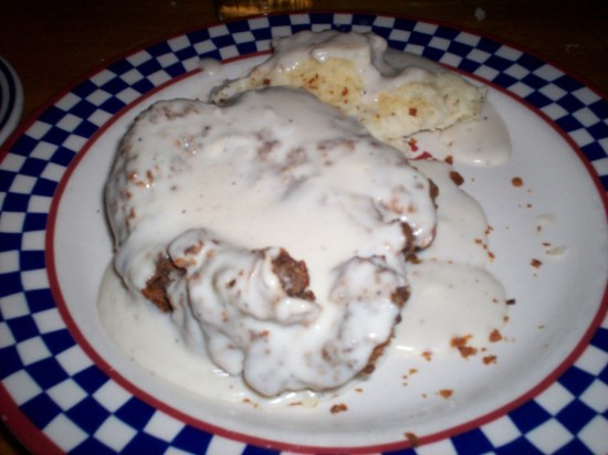 Chicken-Fried Steak!