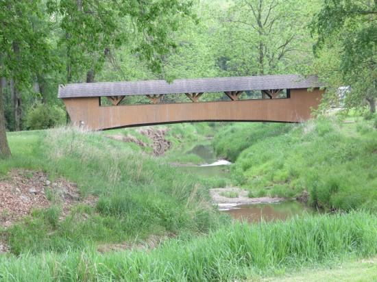 covered bridge!
