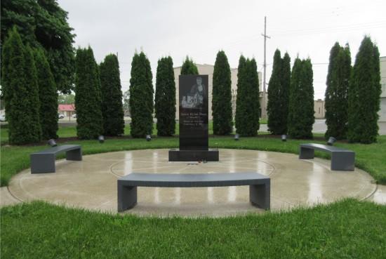Dean memorial wide.