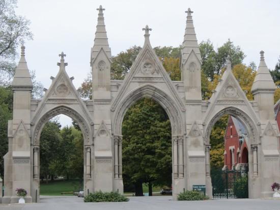 entrance gate!