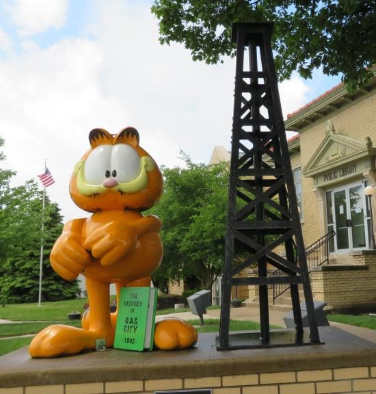 Garfield @ Gas City!