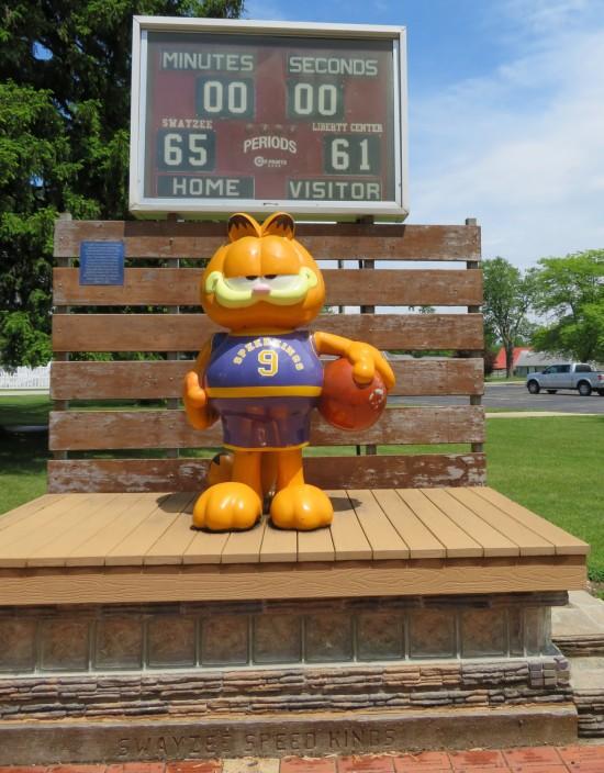 Garfield @ Swayzee!