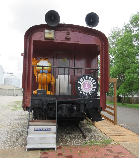Garfield Train!