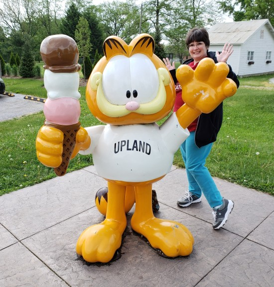 Garfield @ Upland!