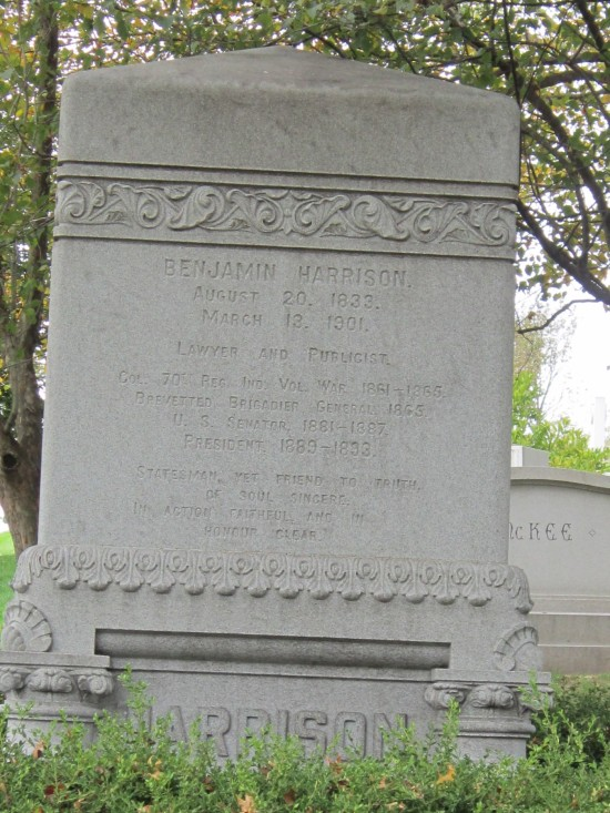 Harrison memorial!