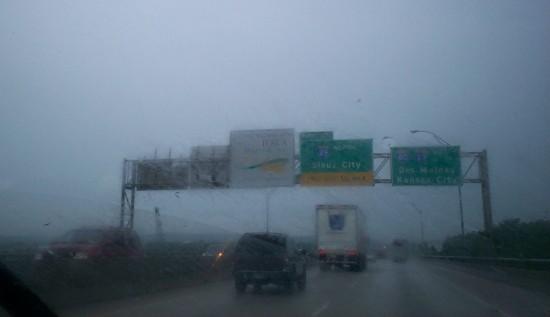 Iowa rain!