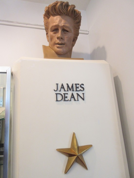 James Dean bust!