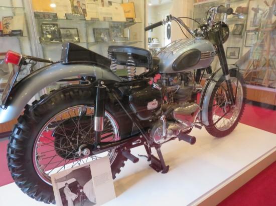 James Dean motorcycle!