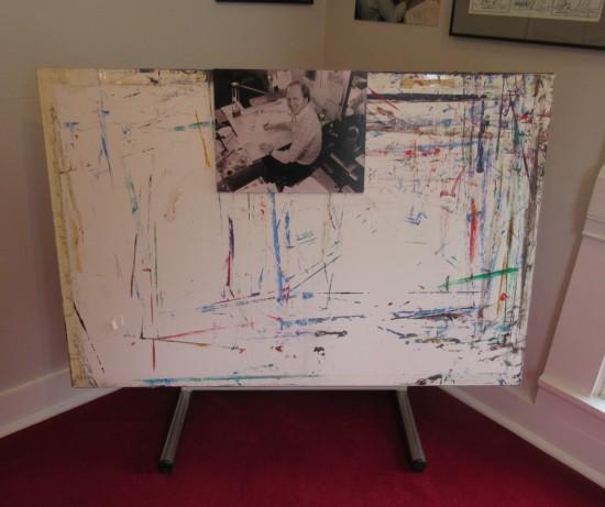 Jim Davis drawing board!