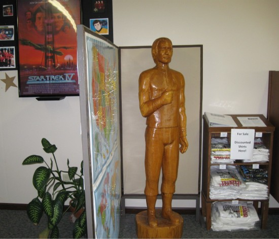 Khan Statue!
