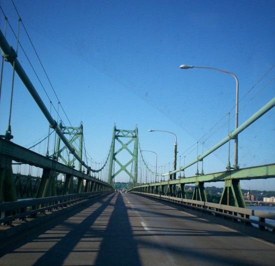 Mississippi River bridge!