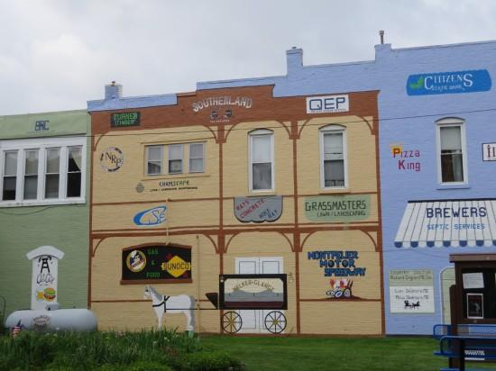 Montpelier mural!