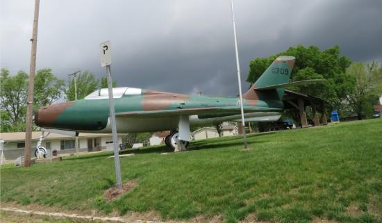 park airplane!