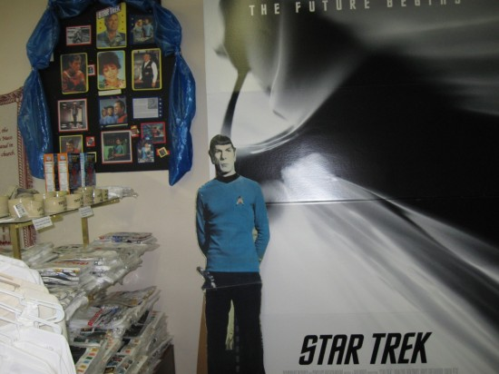 Spock and Poster!
