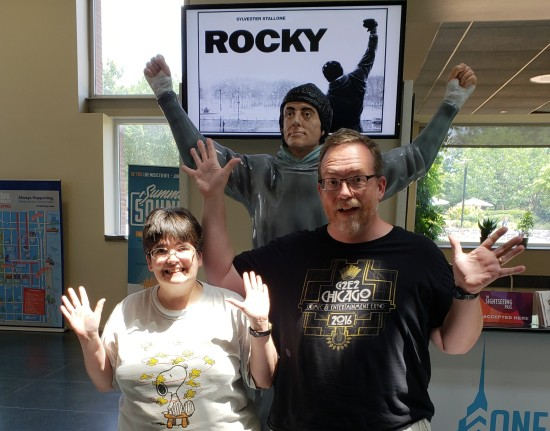 Us and Rocky!