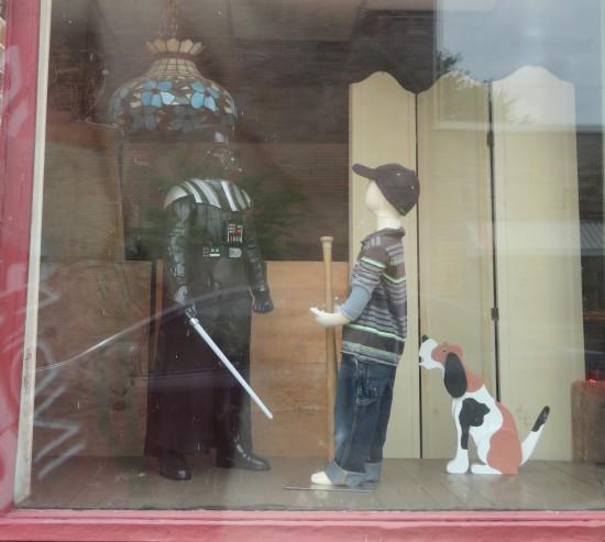 Vader + Boy + Dog!