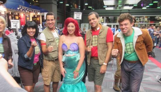 Ariel and Captain Planet!