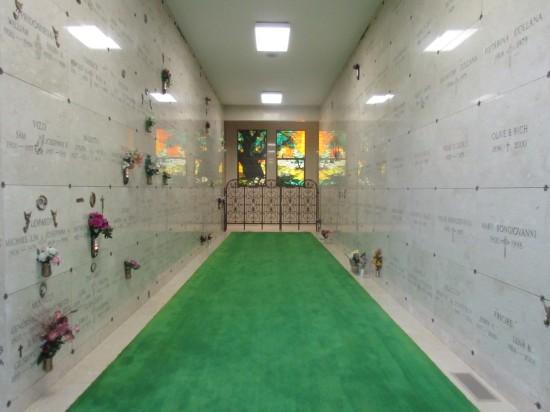 Birchwod hallway.