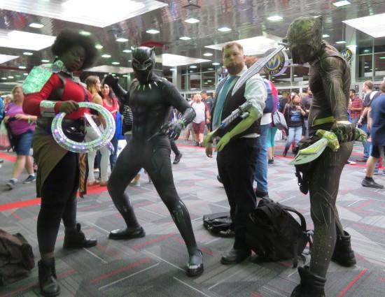 Black Panther crew!