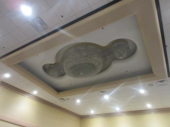 Brain-shaped chandelier!